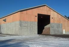 Otsego County Road Commission Salt Storage Barn